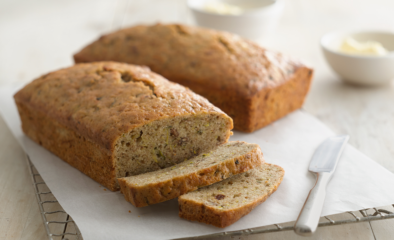 Zucchini Bread | Tony Kubat Photography