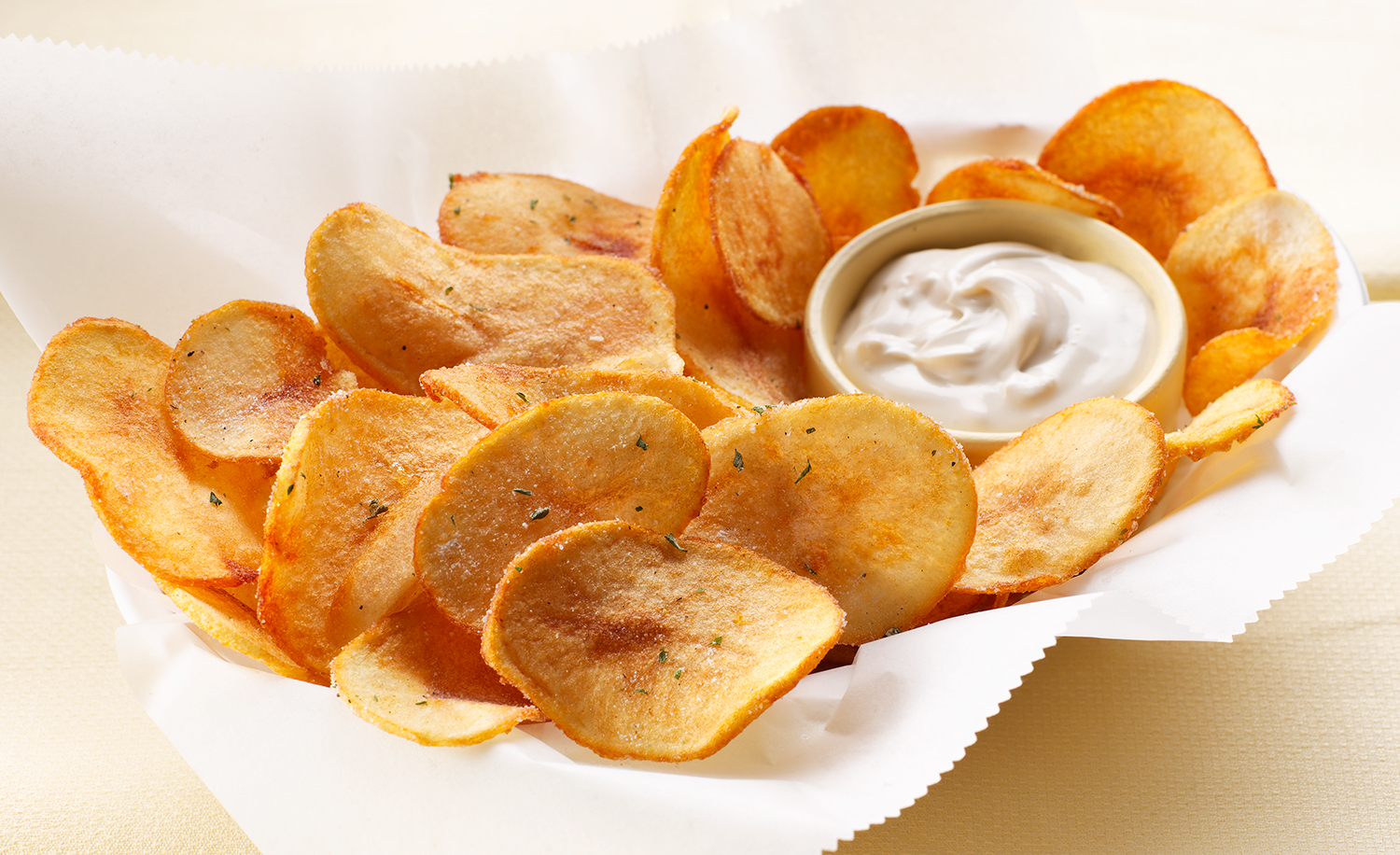 Homemade Potato Chips | Tony Kubat Photography