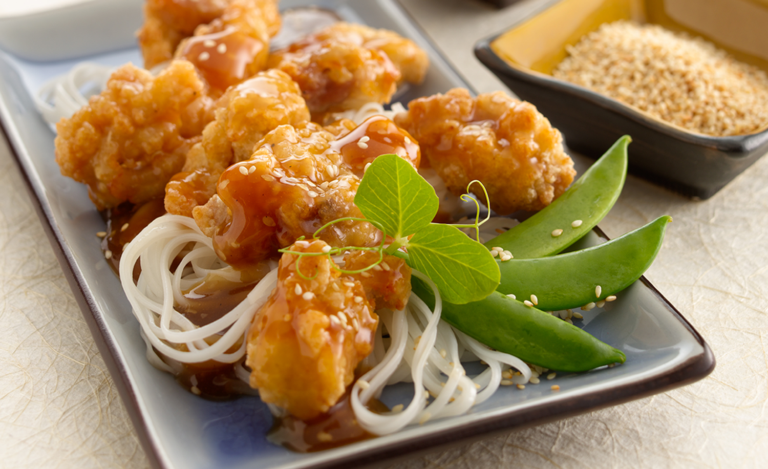 Orange Chicken | Tony Kubat Photography