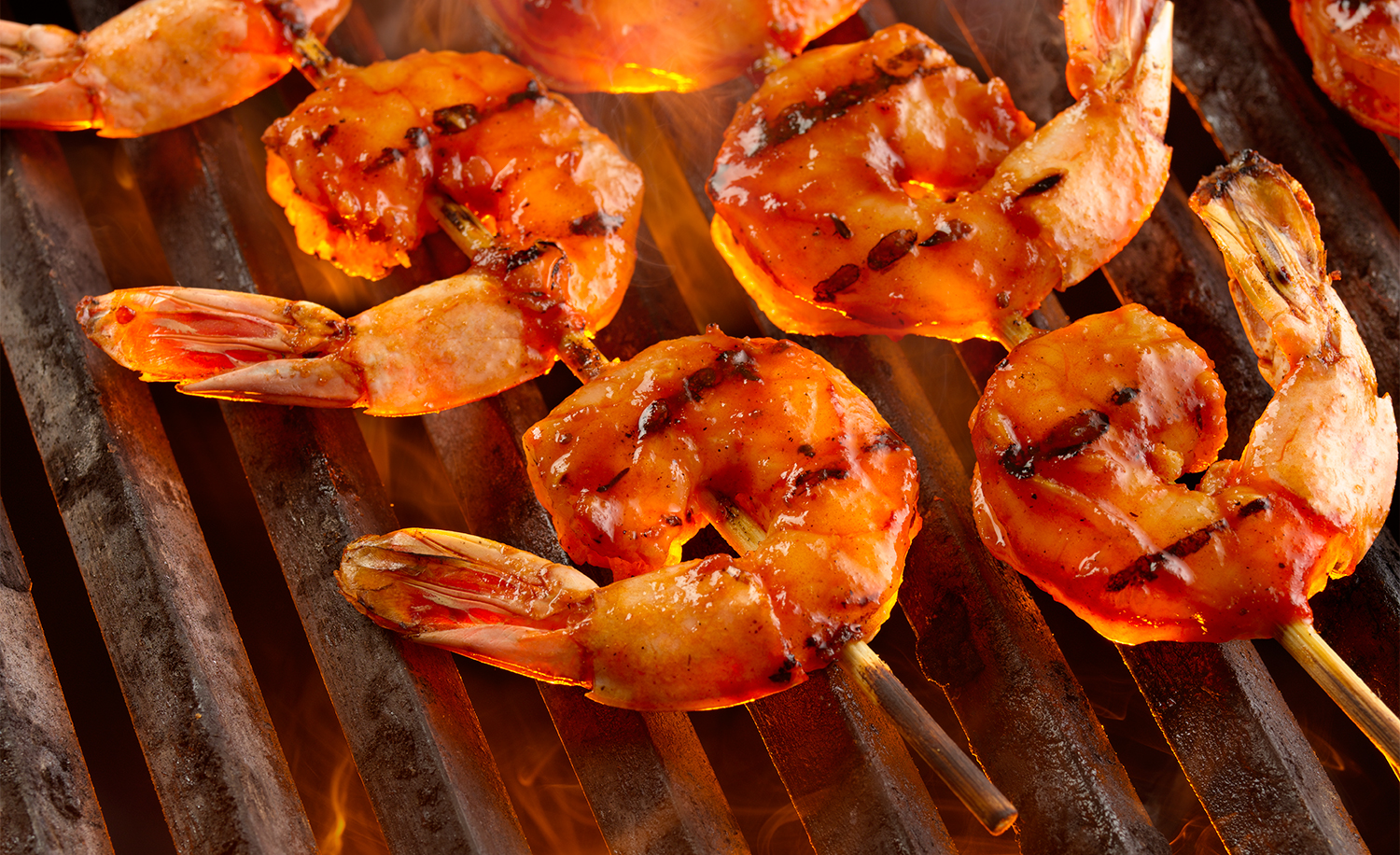 Shrimp On The Grill | Tony Kubat Photography