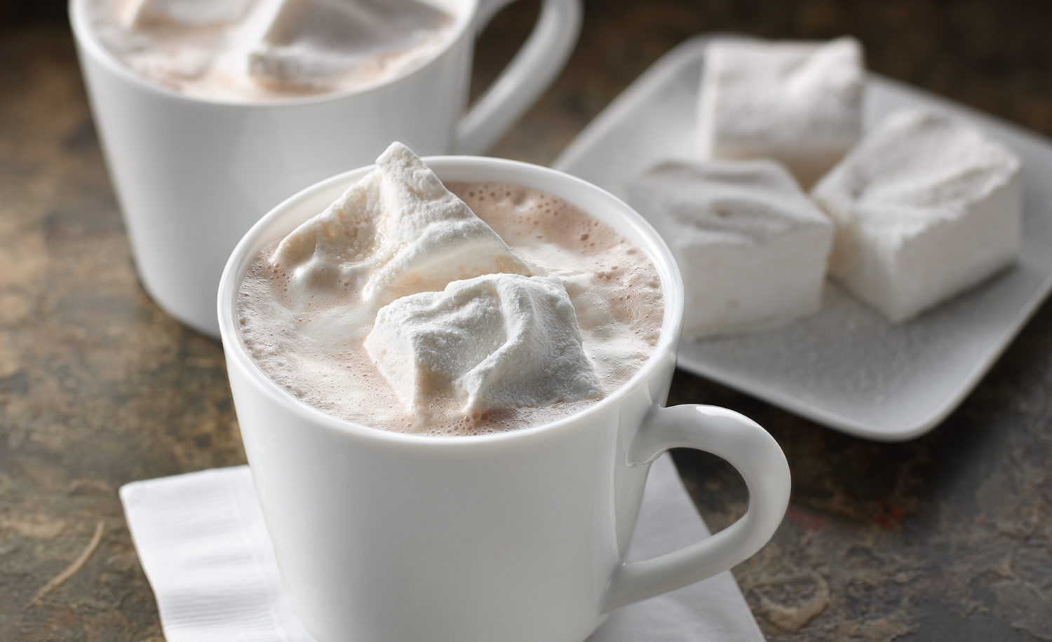 Hot Chocolate With Homemade Marshmallows | Tony Kubat Photograph
