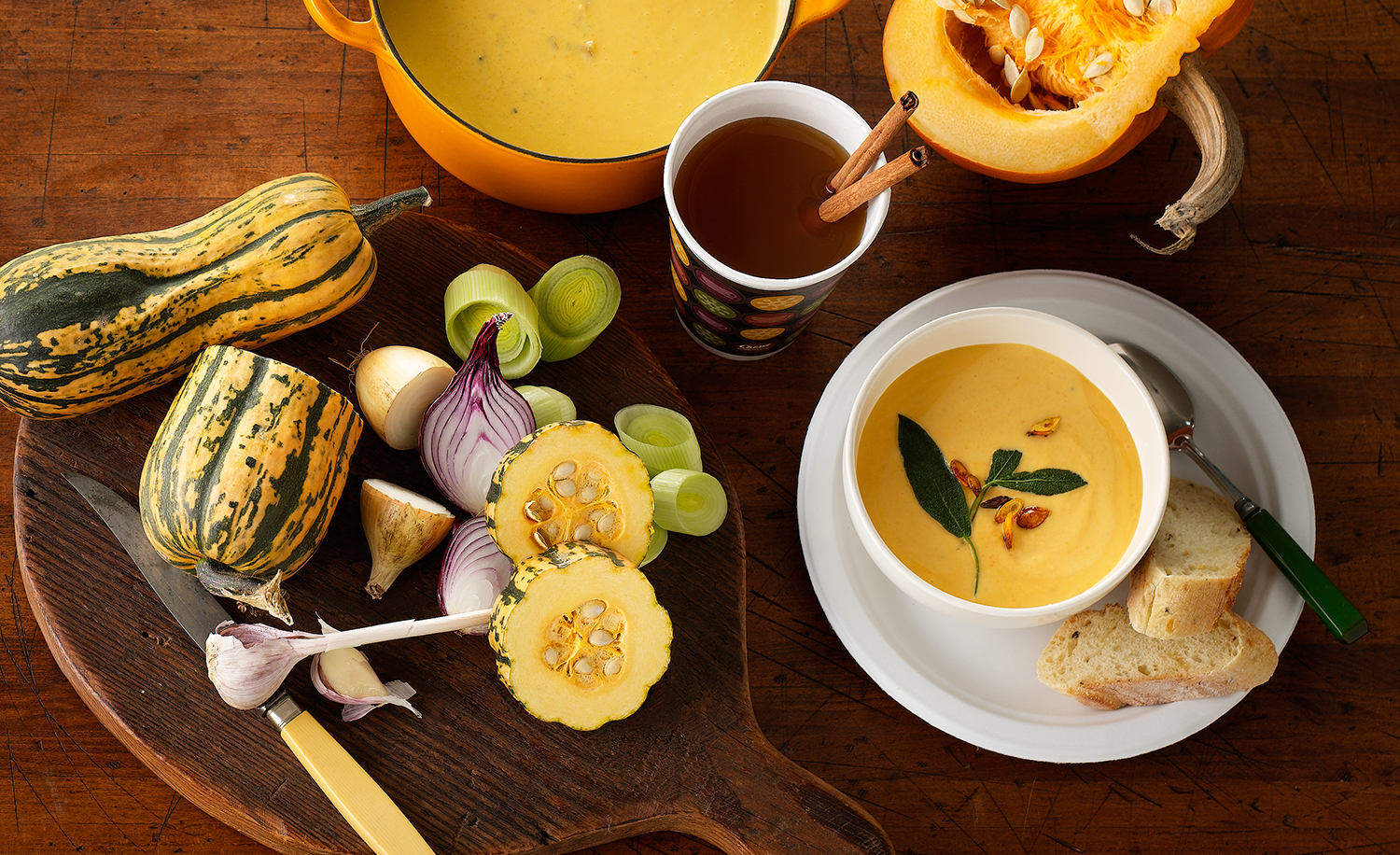 Butternut Squash Soup | Tony Kubat Photography