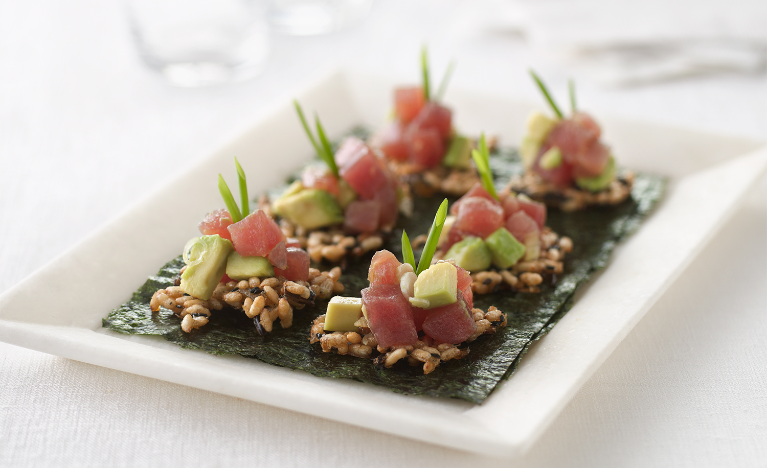 Tuna Poke | Tony Kubat Photography