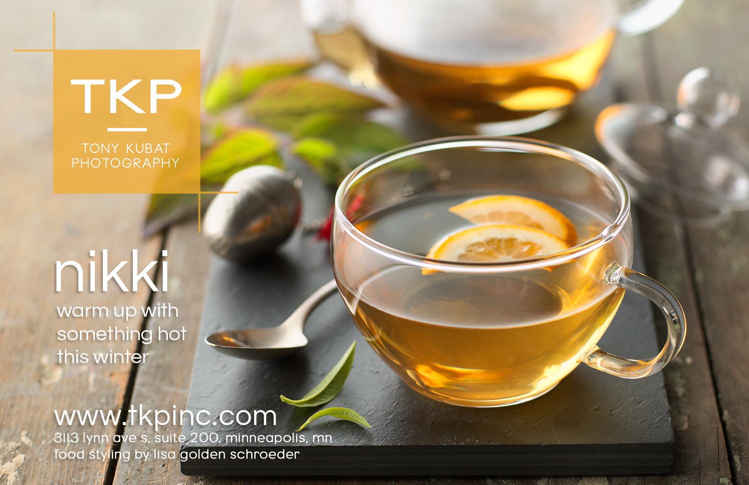 Lemon Verbena Tea | Tony Kubat Photography