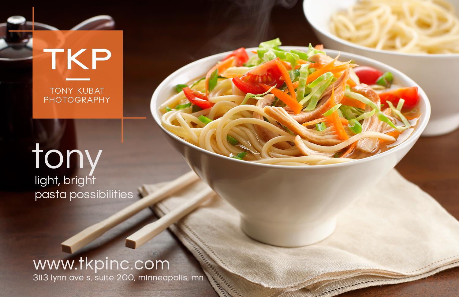 Asian Noodle Soup | Tony Kubat Photography
