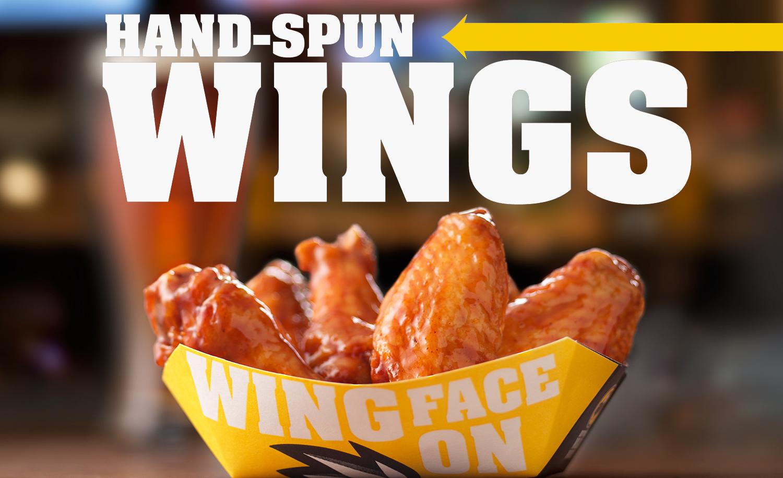 Hand Spun Chicken Wings | Tony Kubat Photography