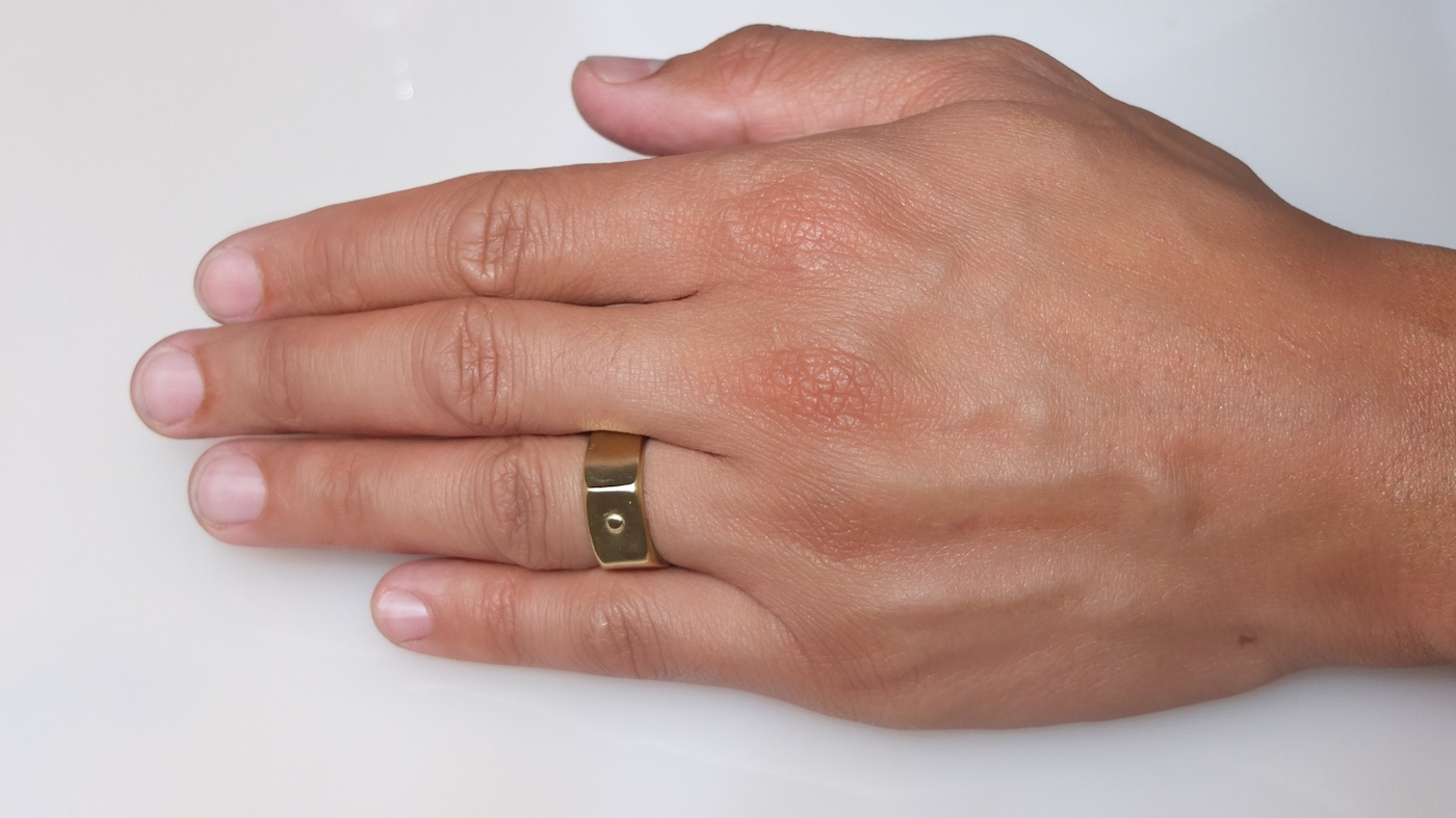Mens Nut Rings