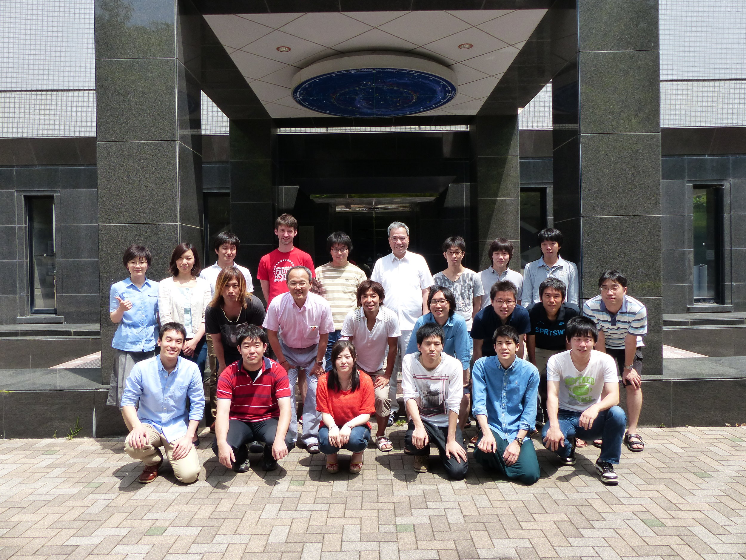 Hiroshi Tsunemi's group at osaka university