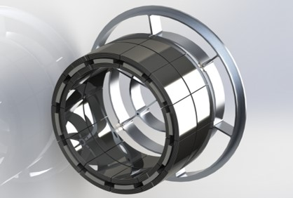 CAD of the OGRE optic