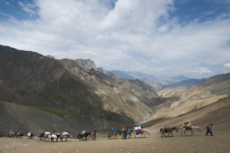Konze La, Ladakh, India