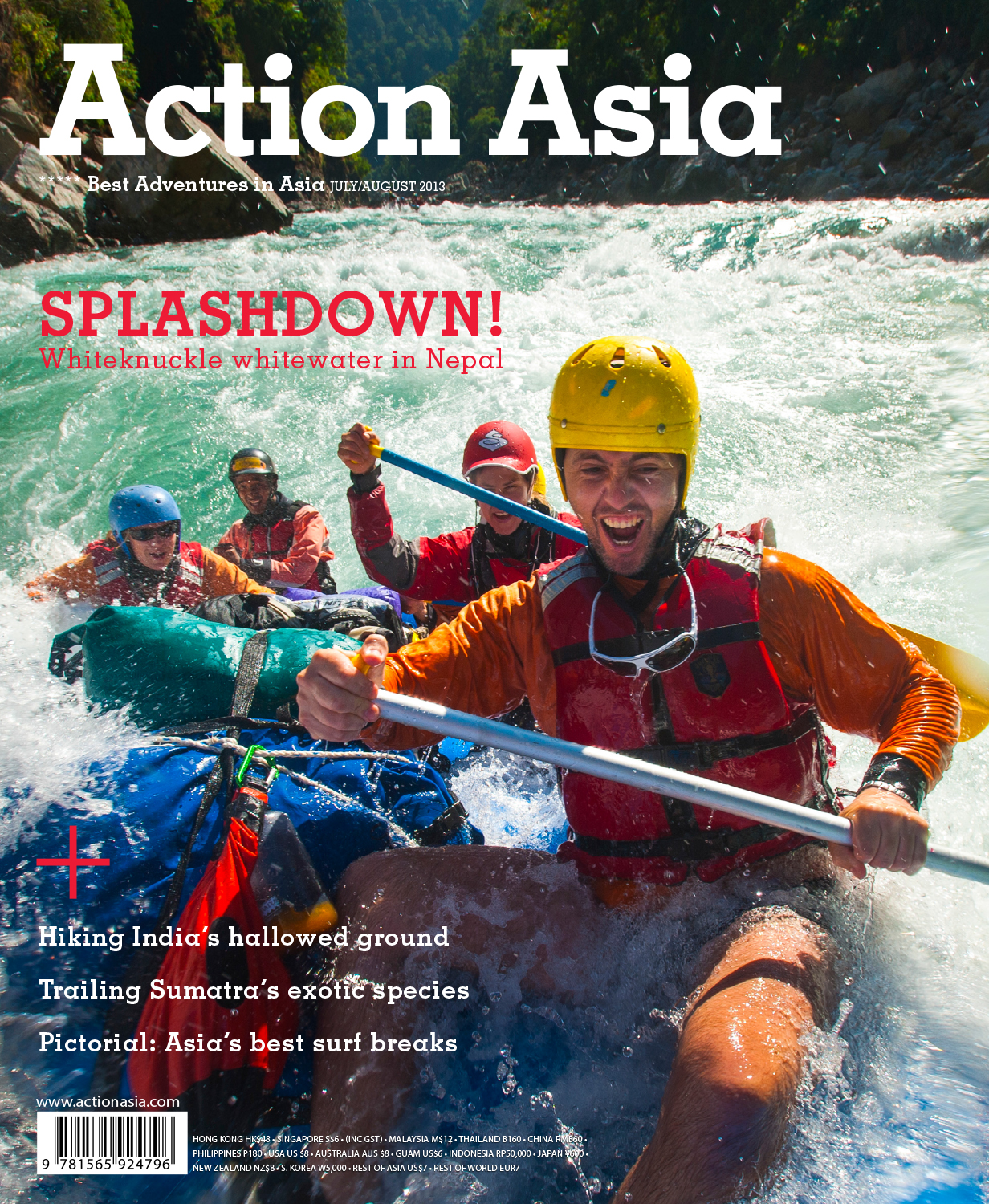 Action Asia cover July/August 2013