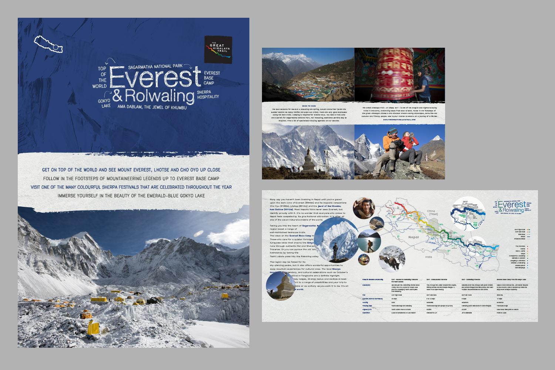 Flyer for the Everest region