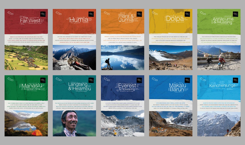 Destination brochures