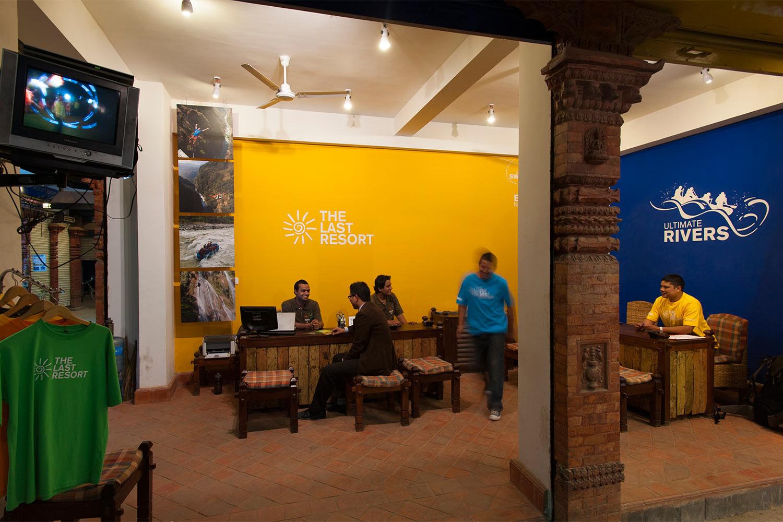 Sales office in Kathmandu
