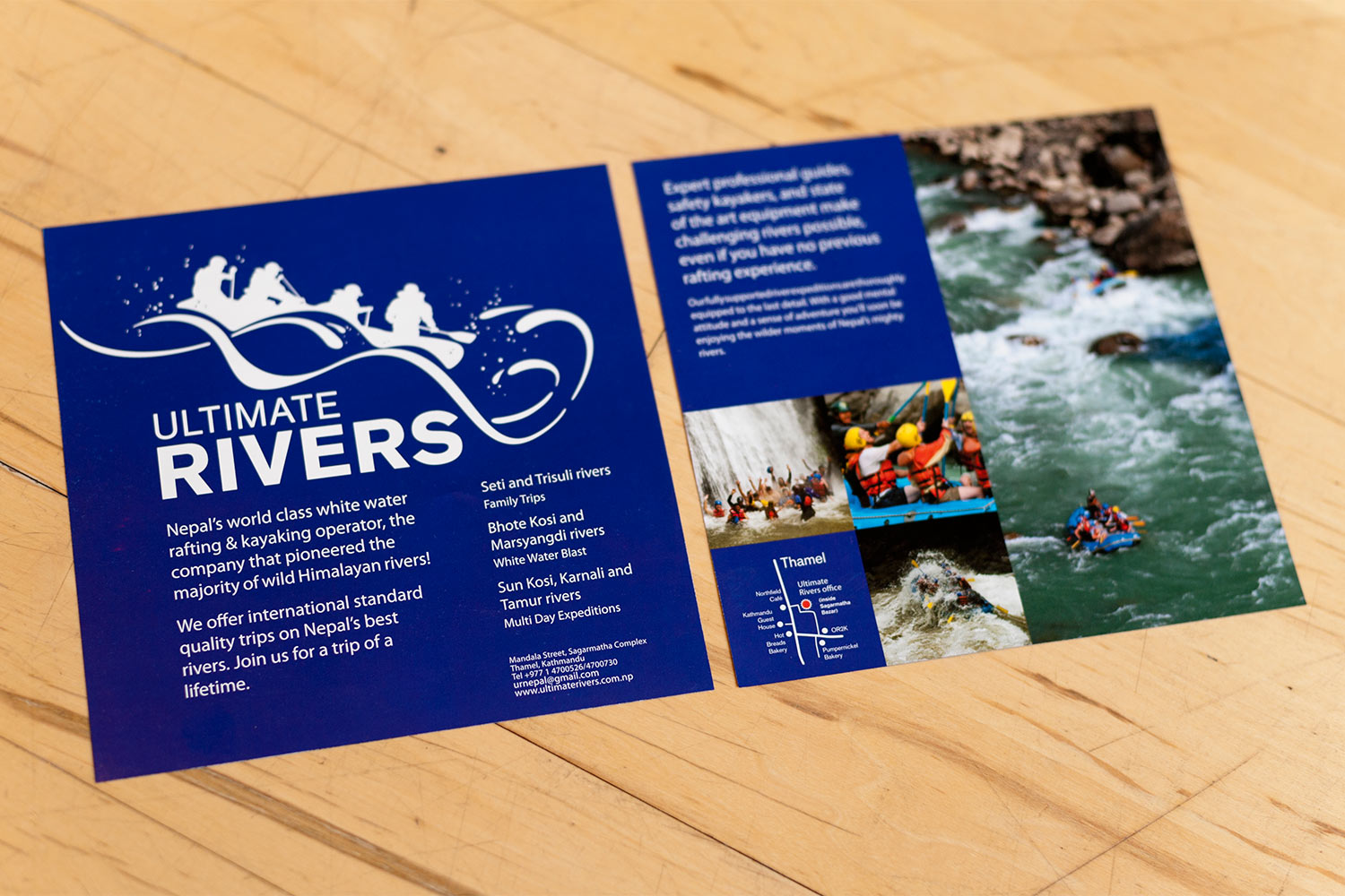 Ultimate rivers flyer