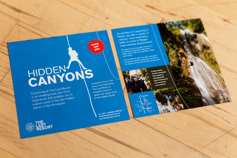 Hidden Canyons flyer