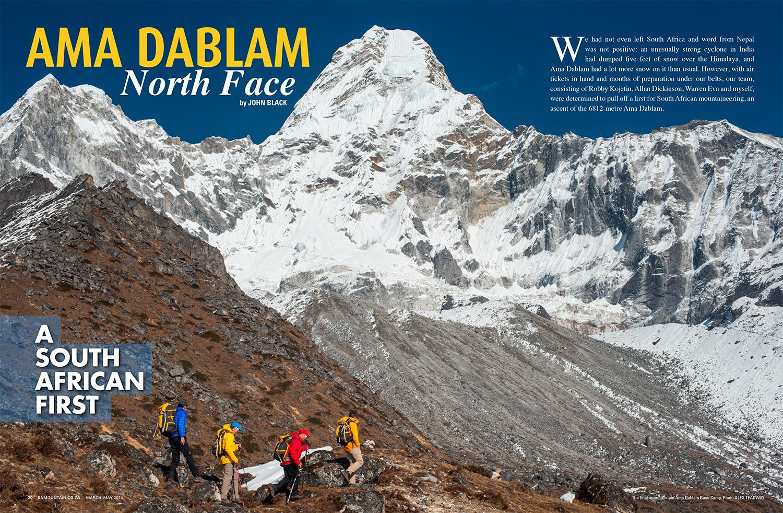 SA Mountain Magazine, March-May 2014