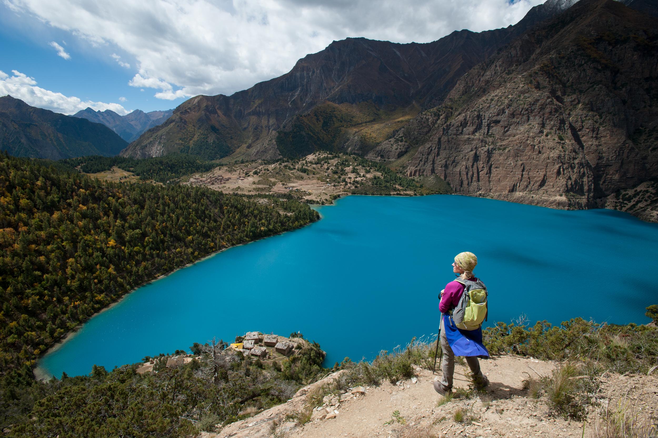 Phoksundo lake, Dolpa, Nepal
