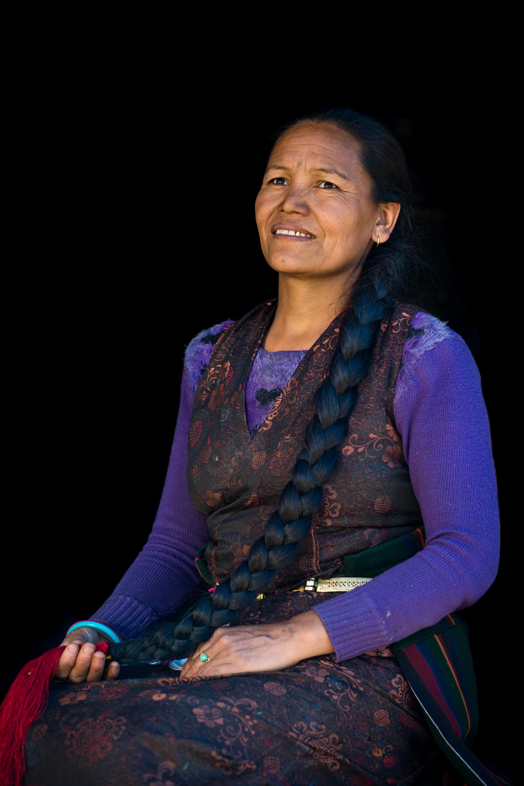 Tamang woman, Nepal
