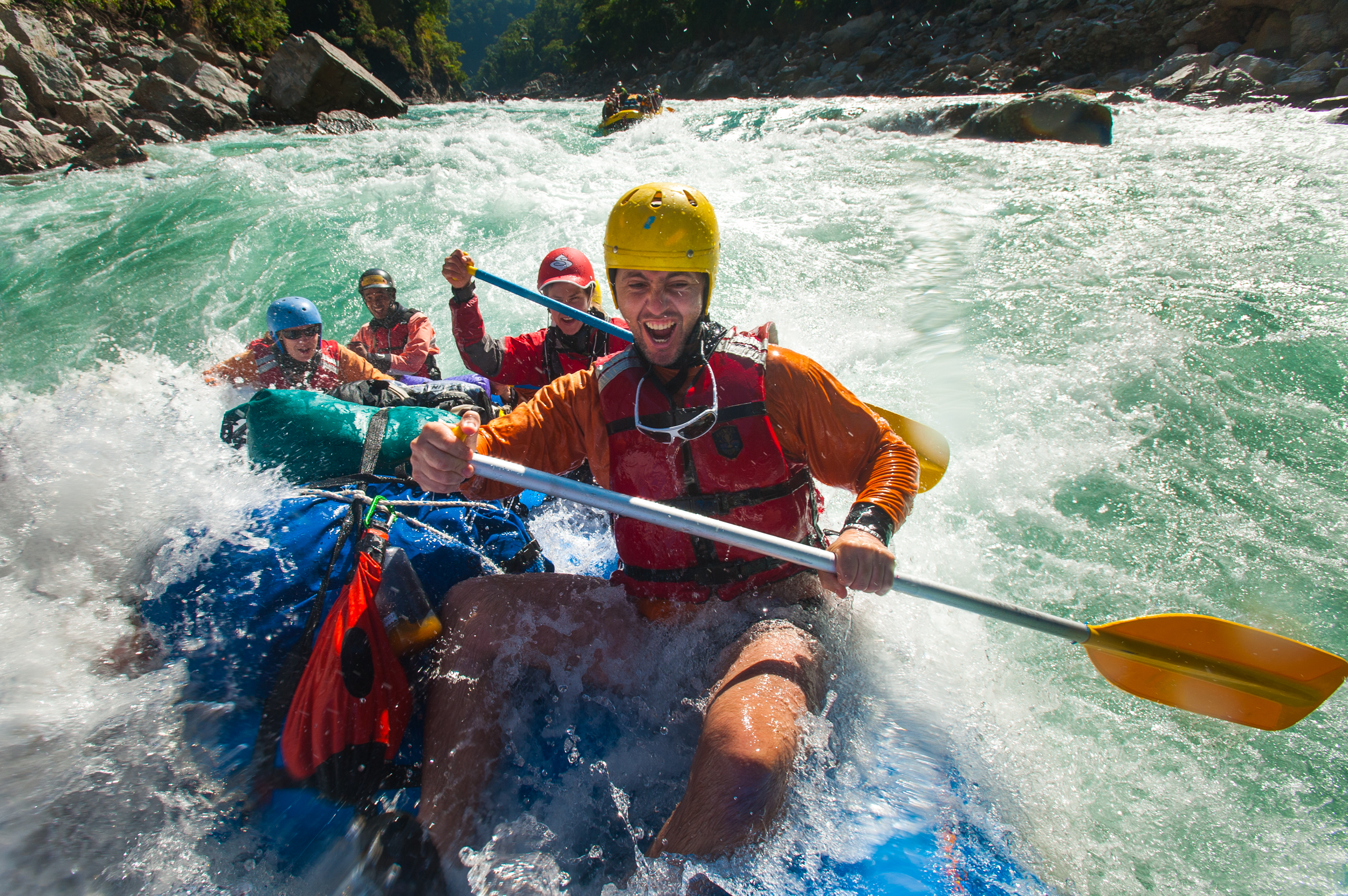 THE PEACE AND THE POWER – The Karnali runs through some of Nepal's most serene scenery, but its huge volume of water won't disappoint adrenaline junkies either.