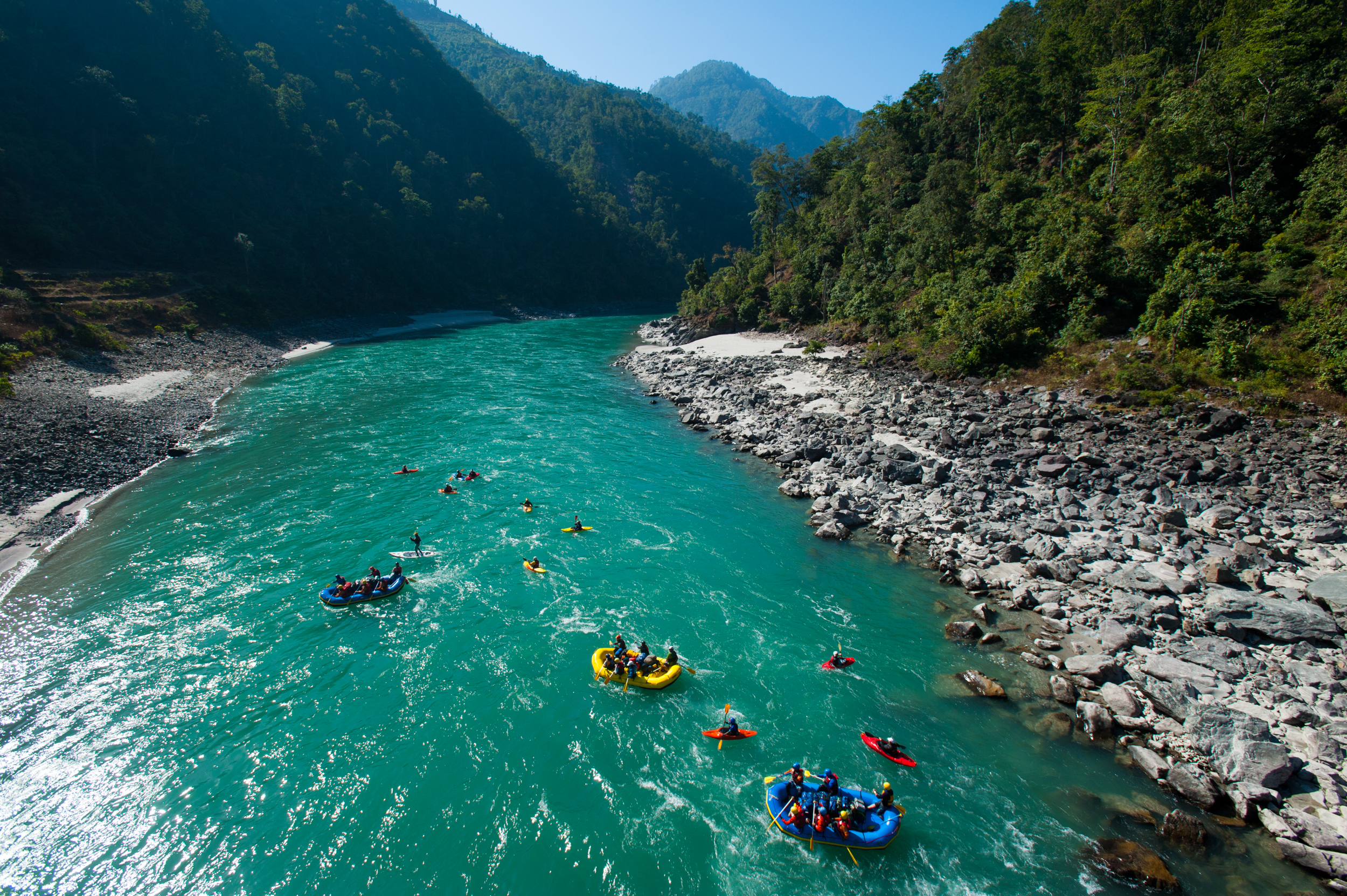 The future of the Karnali, and the people and rare species that depend on its water, lies in the balance. Nepal is in the midst of a drive to harness its water resources.