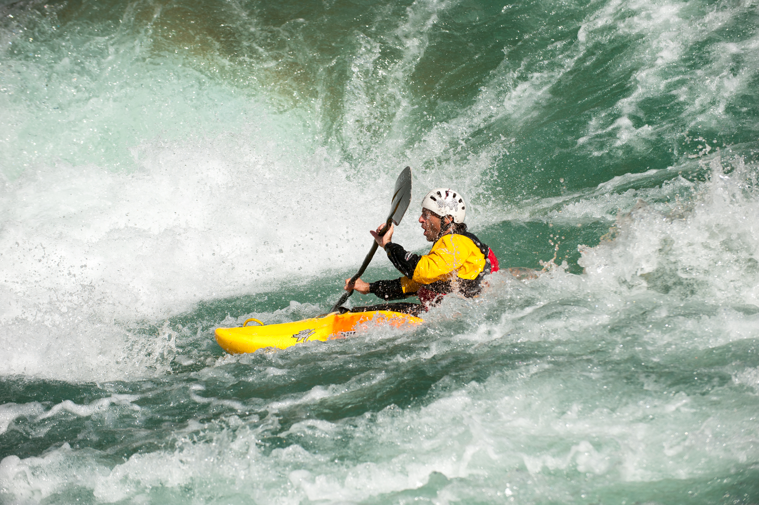 SOLO MISSION –A kayaker's wet dream, but not for beginners. It is usually possible to stow a kayak on a raft for the big rapids, if you're unsure.