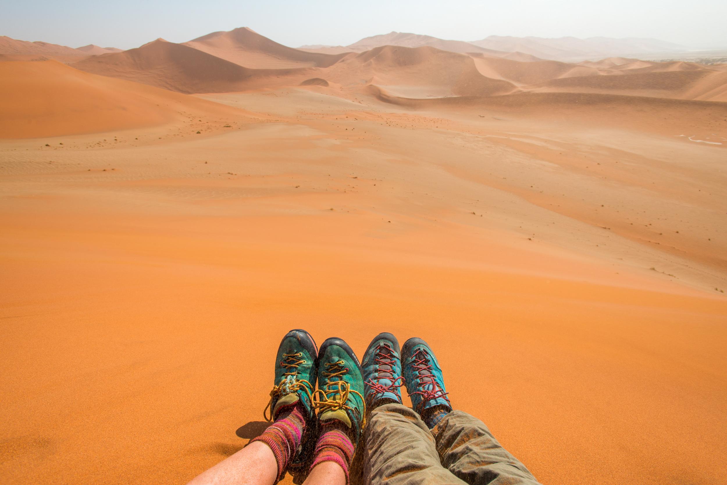 Sossusvlei  Namibia desert