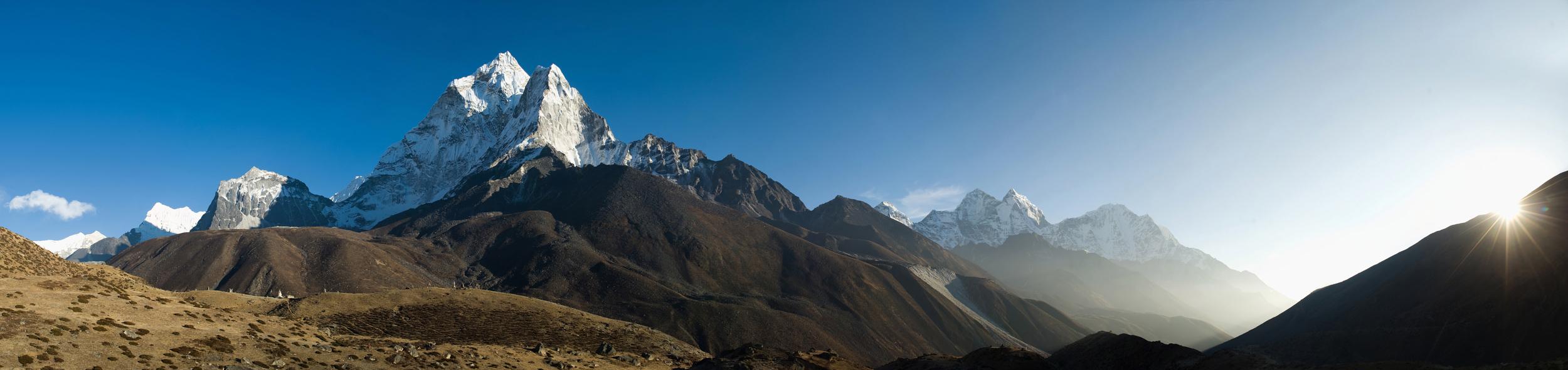 Ama Dablam in the Everest region