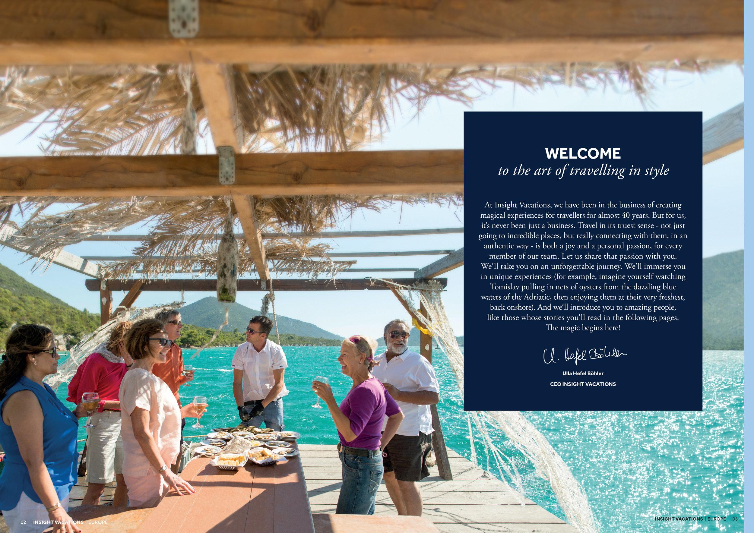 Insight Vacations Brochure