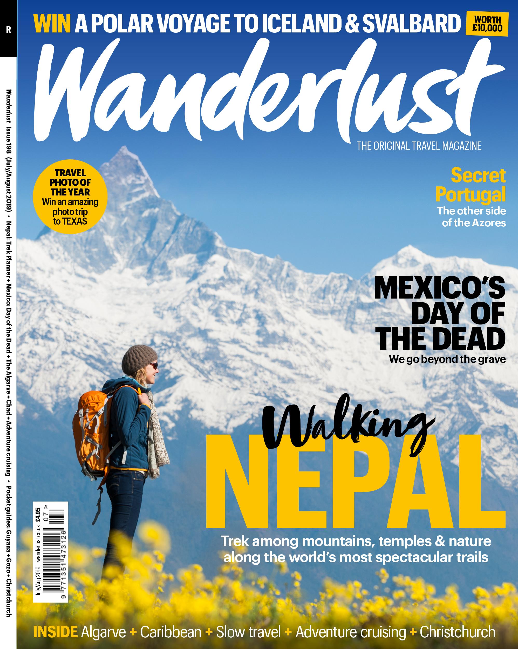 Wanderlust Magazine July/August 2019