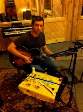 Nico Soffiato  guitar and prepared guitar