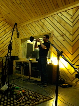 Eli Asher  trumpet, slide trumpet, percussive elements