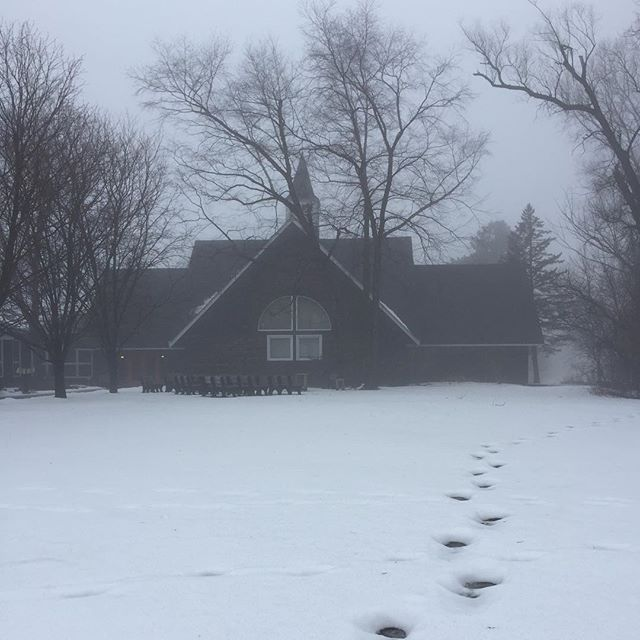 Foggy day at Saint Anne's.