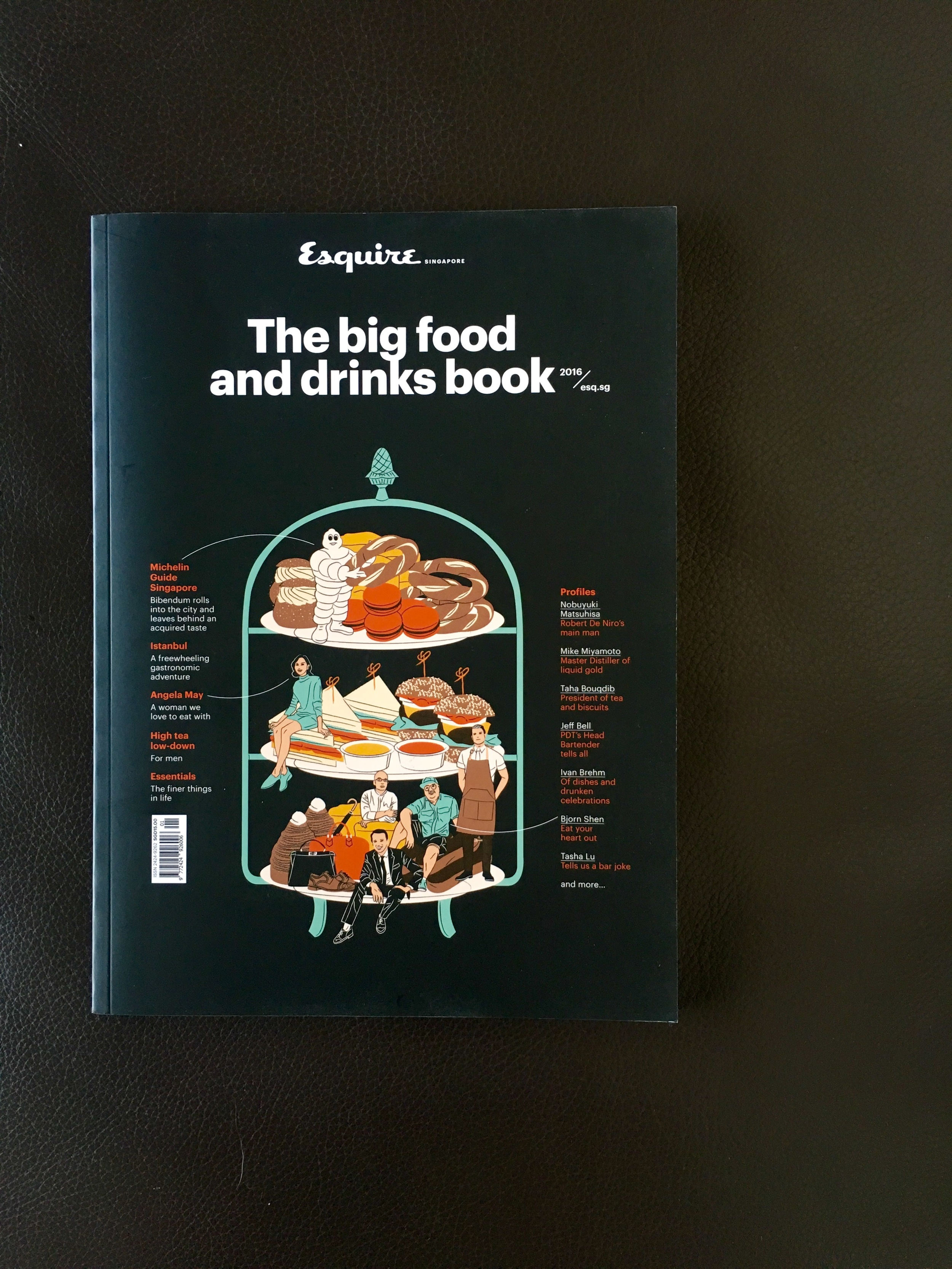 Esquire Singapore's Big Food and Drinks Book, July 2016