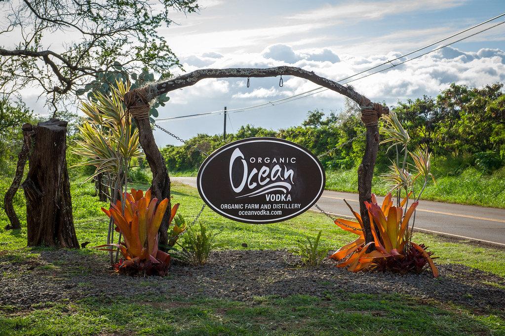 Ocean Organic Vodka farm and distillery | Credit:  Brian Lauer
