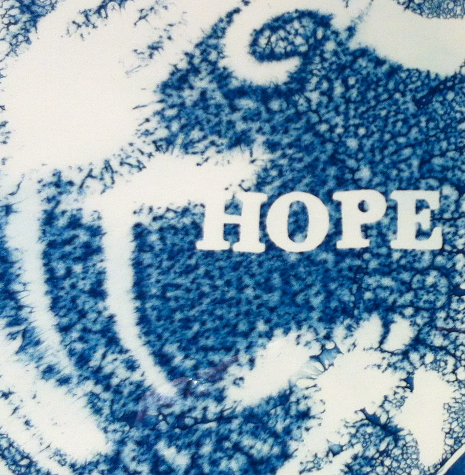 Hope   10x10  cyanotype