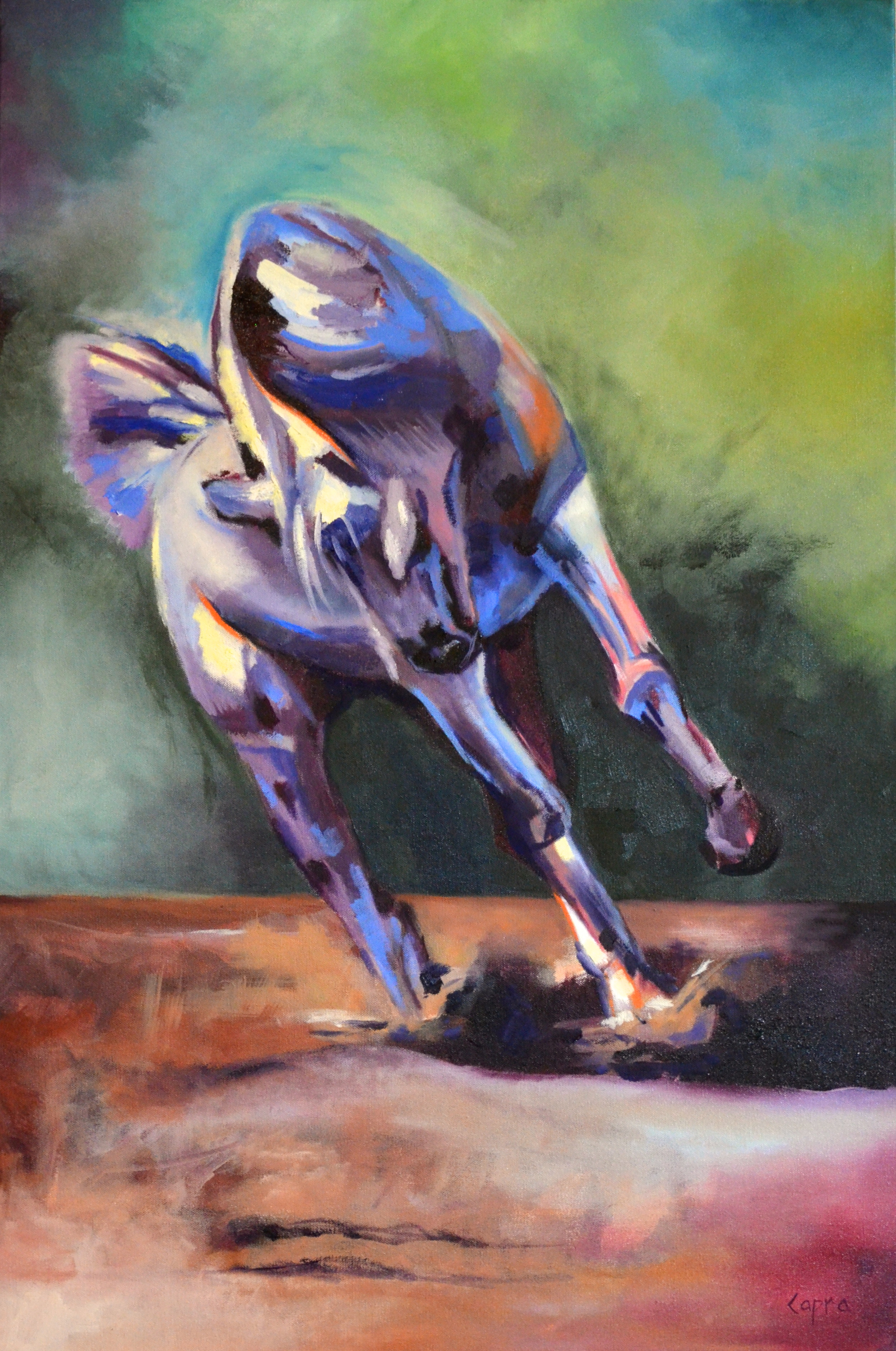Covenant Power   36x24  oil painting  $720.00