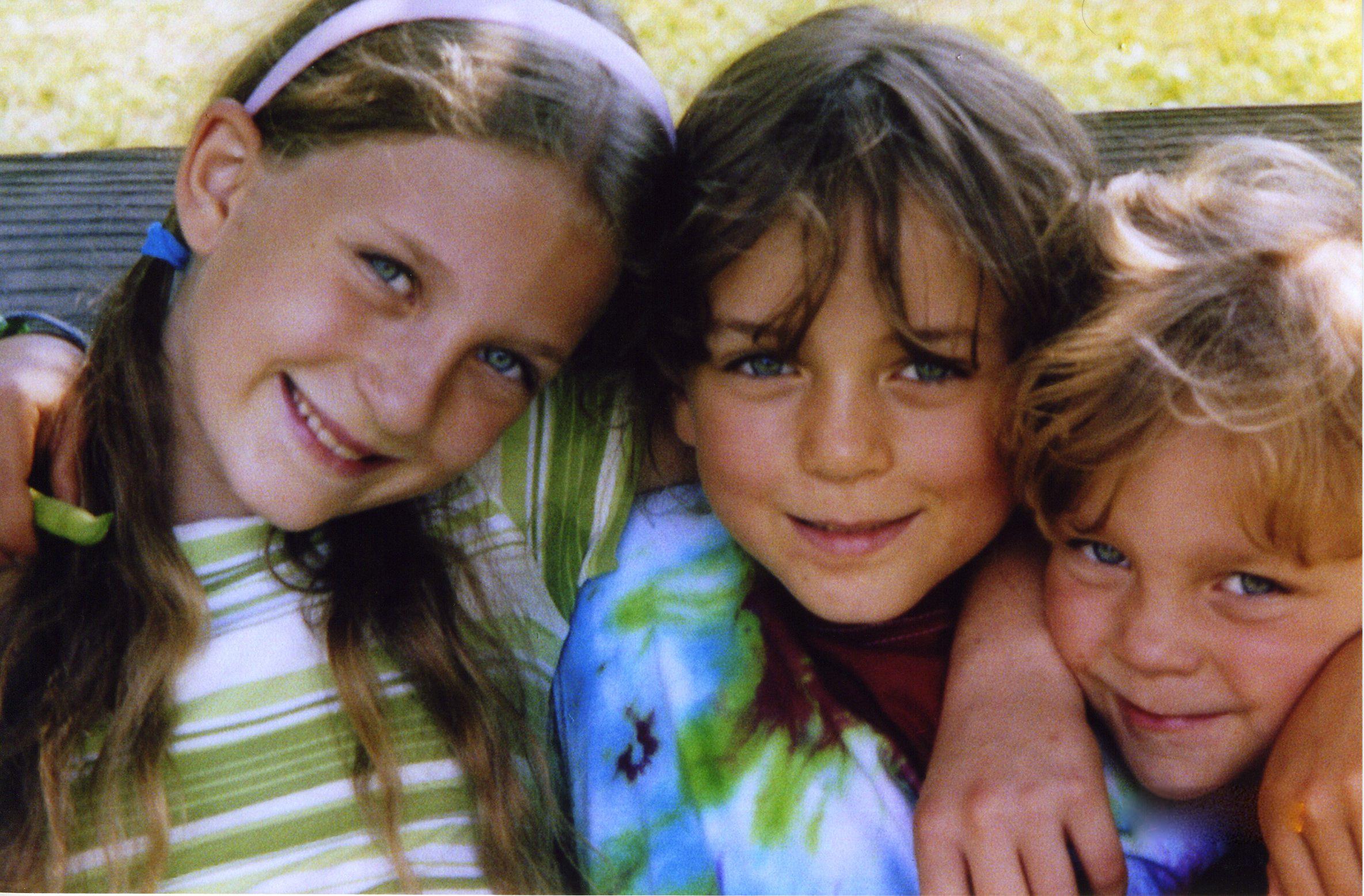 Three of my precious children: Angelina, Noah and Sylvan.