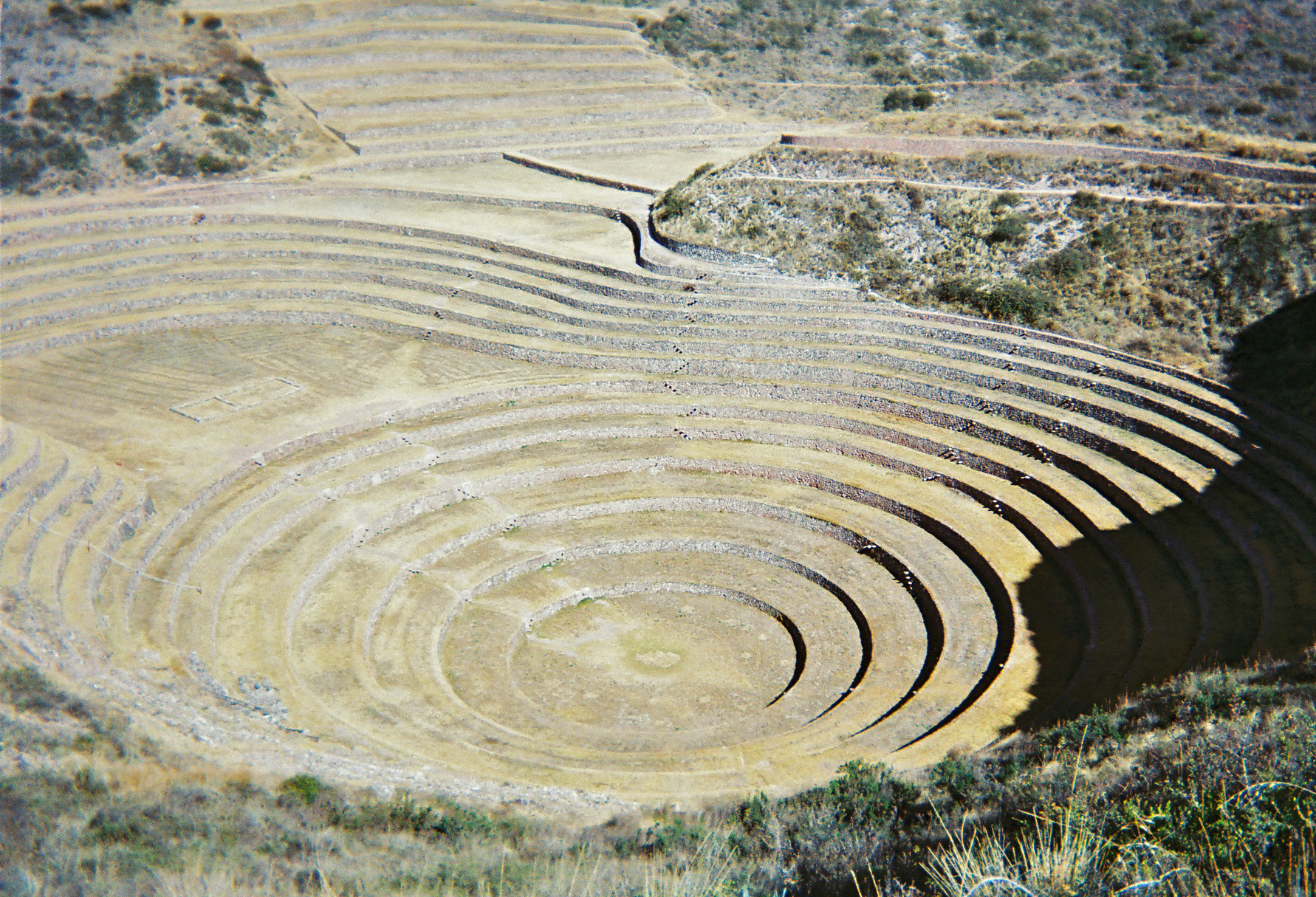 Ancient Agricultural Terraces in Peru