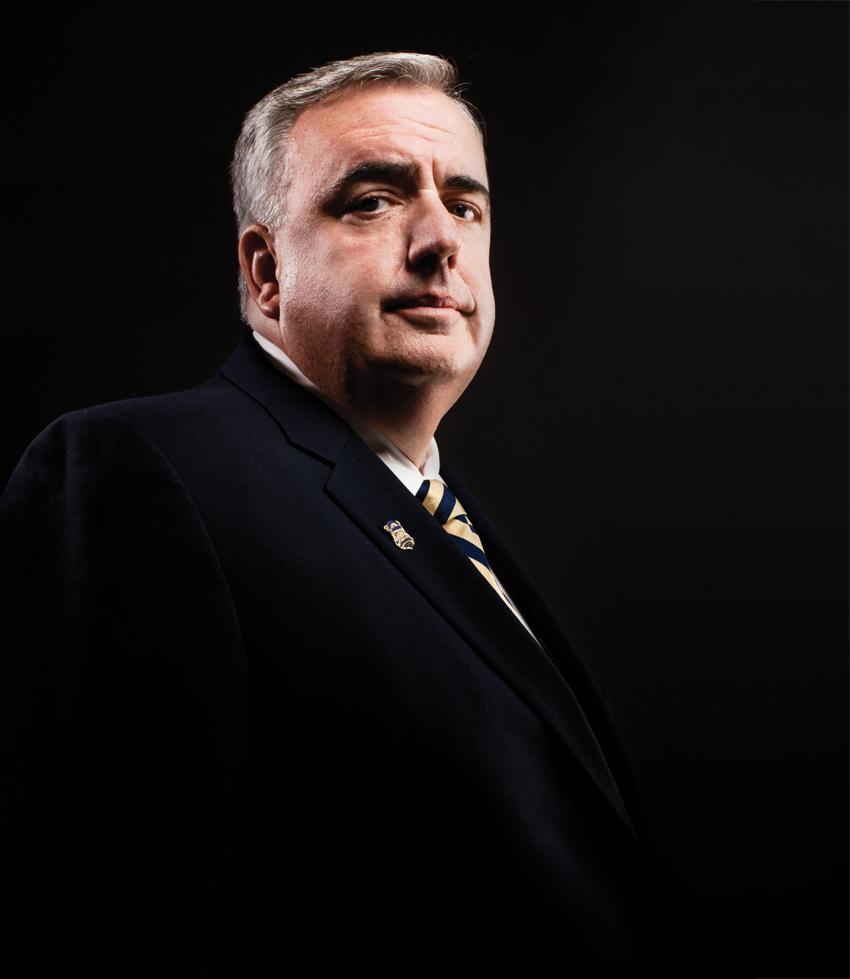 Boston Police Commissioner Edward F. Davis III