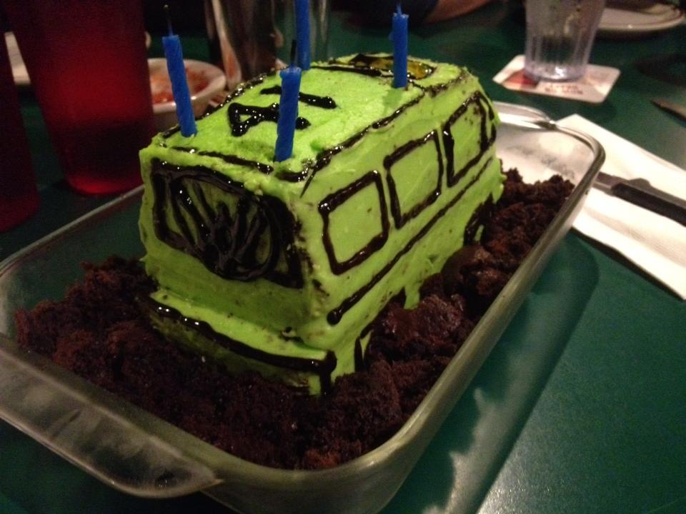 Kirk's birthday cake made by Dana of Das Mule