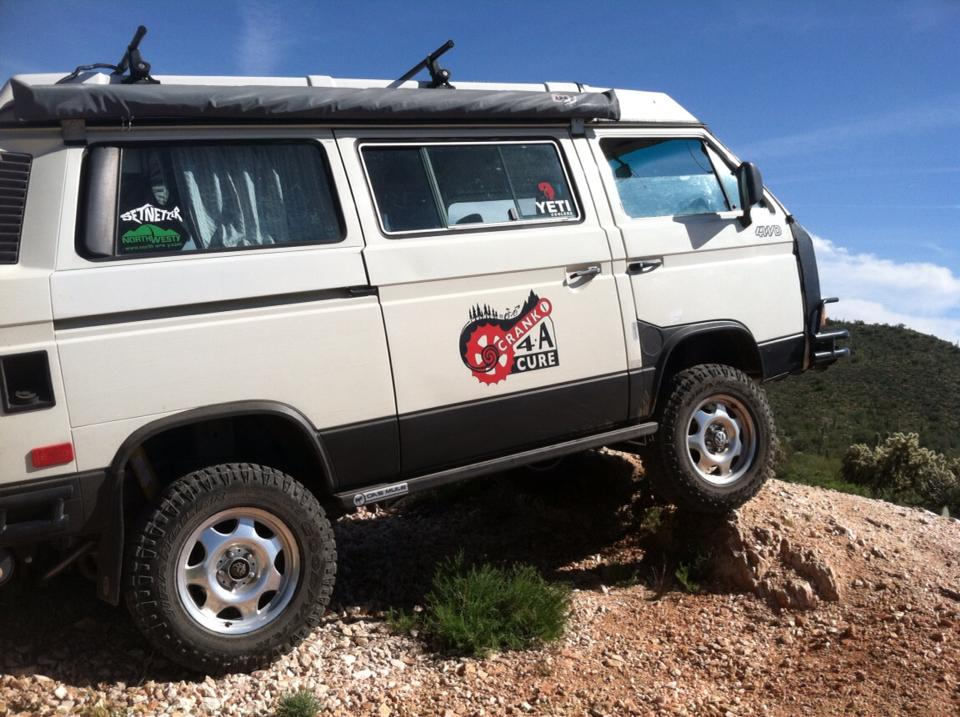 Syncro and engine conversion for Erik in Arizona!