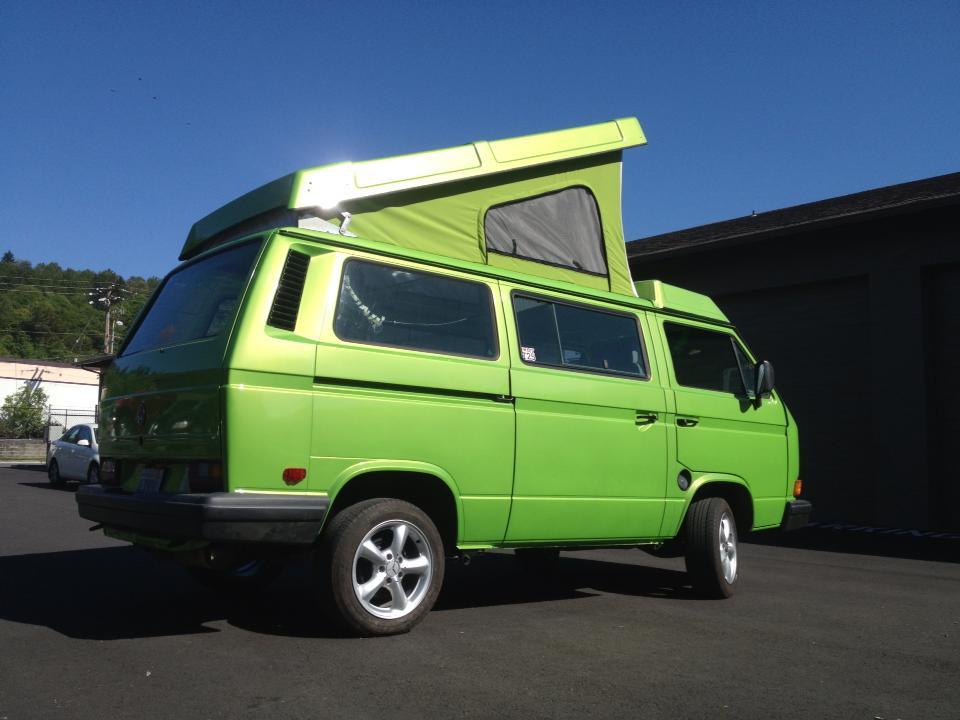 The Green Machine!