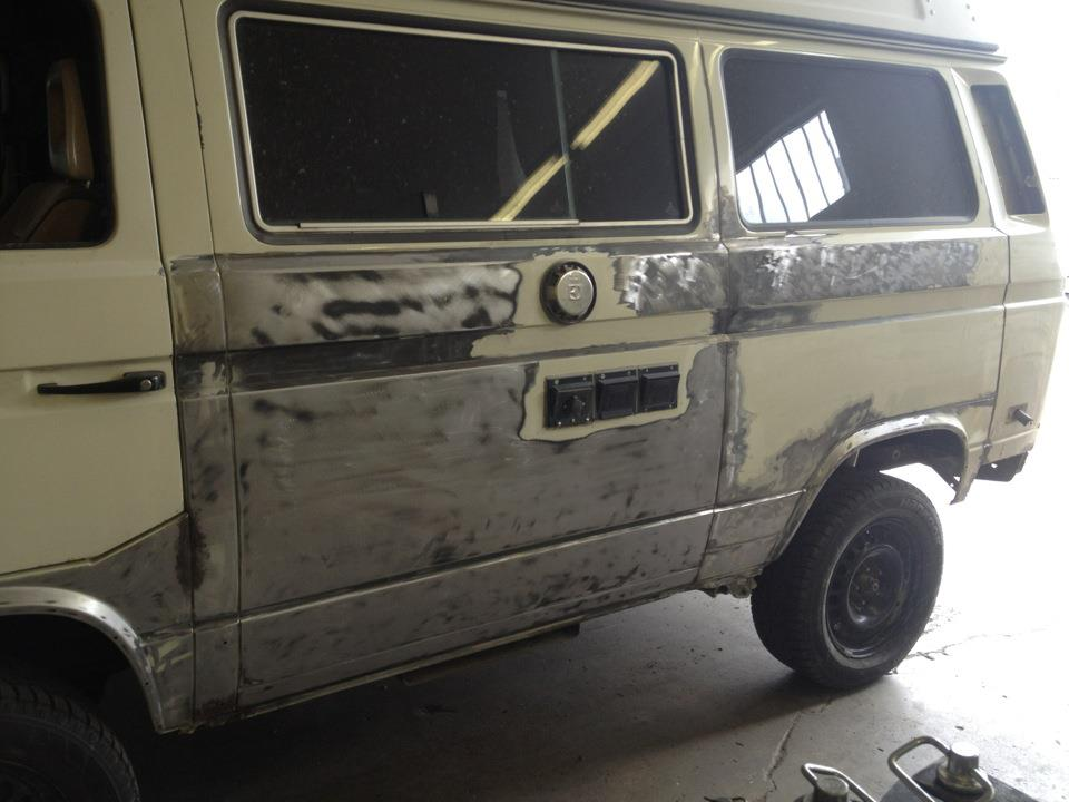 Full restoration on Daryl's syncro from AA Transaxle