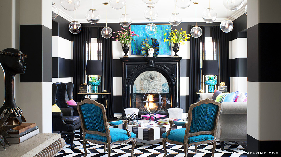 Kourtney Kardashian Living Room