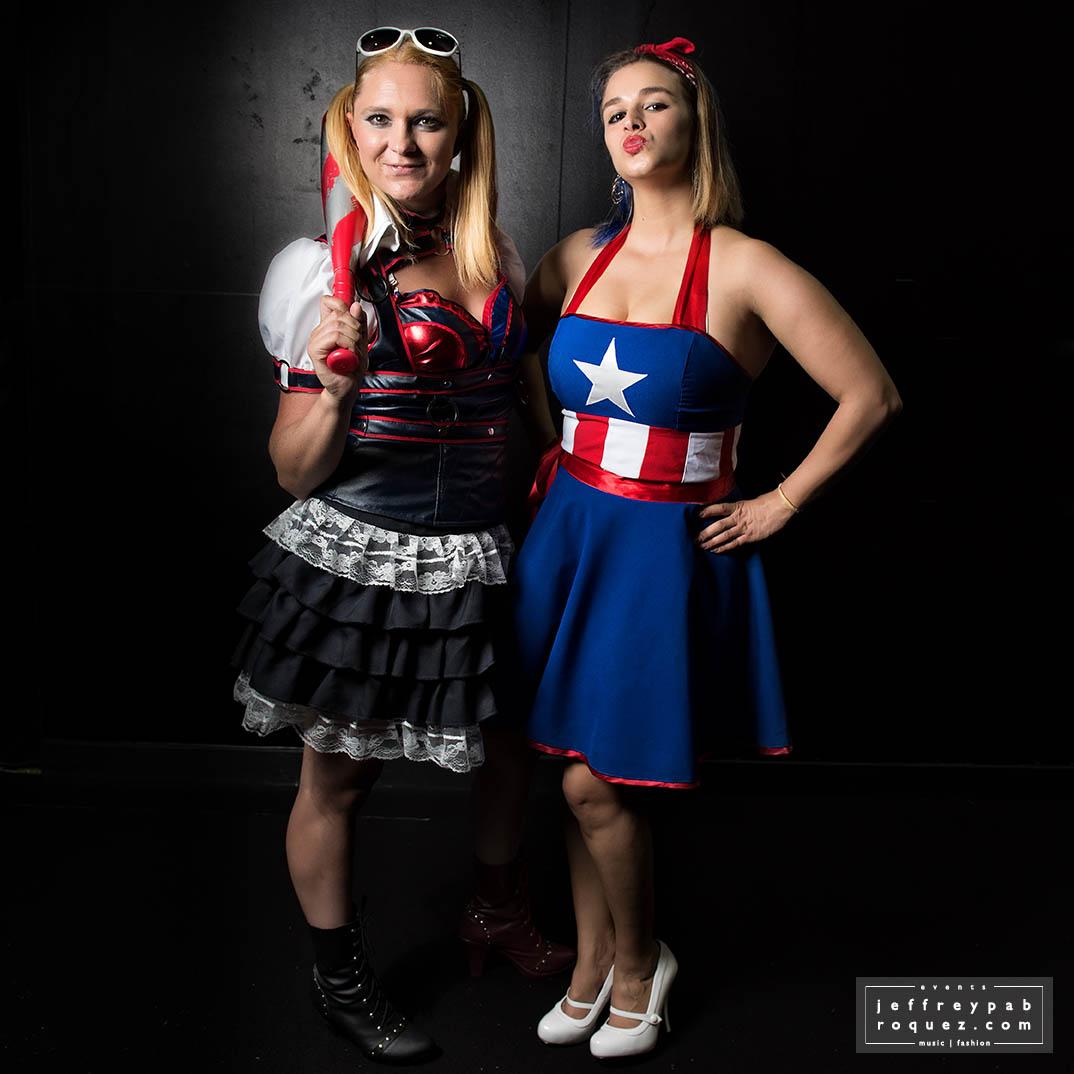 Arkham Harley & Miss Captain America