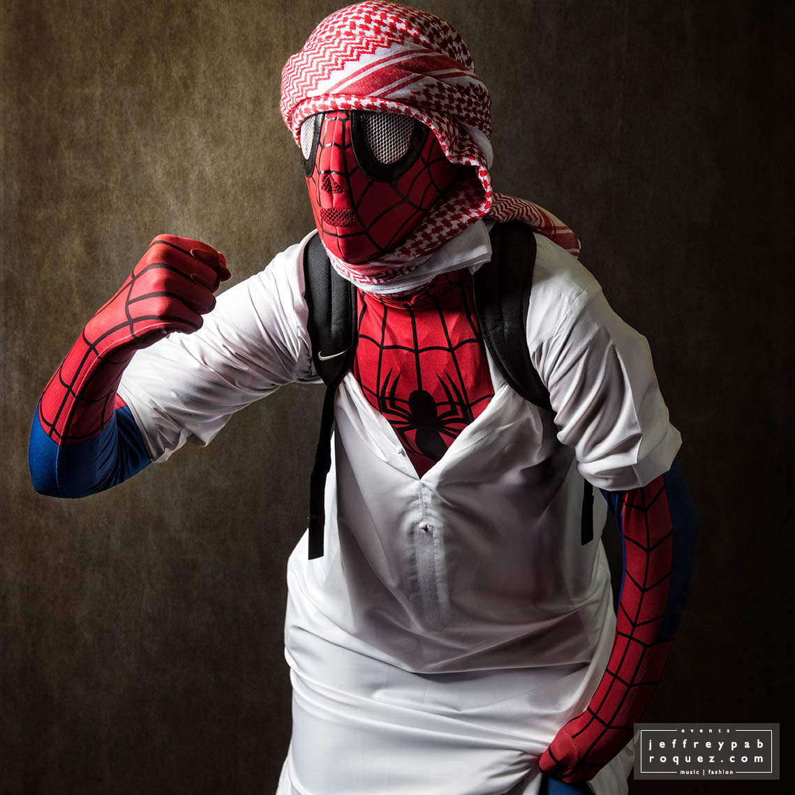 The Arabic Spiderman