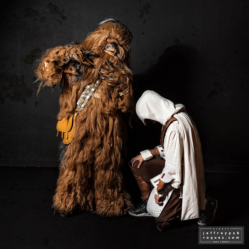 Chewbacca + Assassins Creed