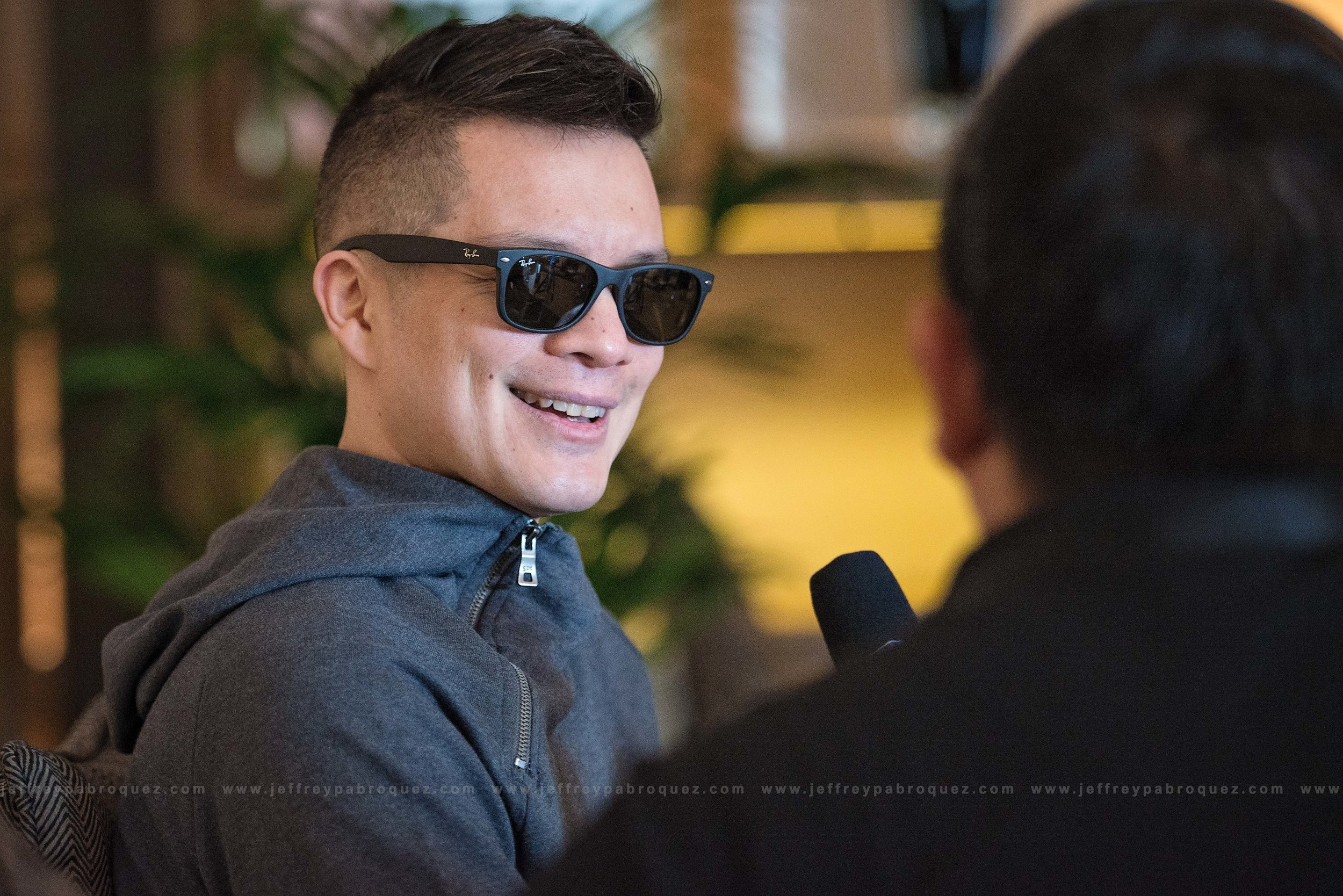 Bamboo during media briefing