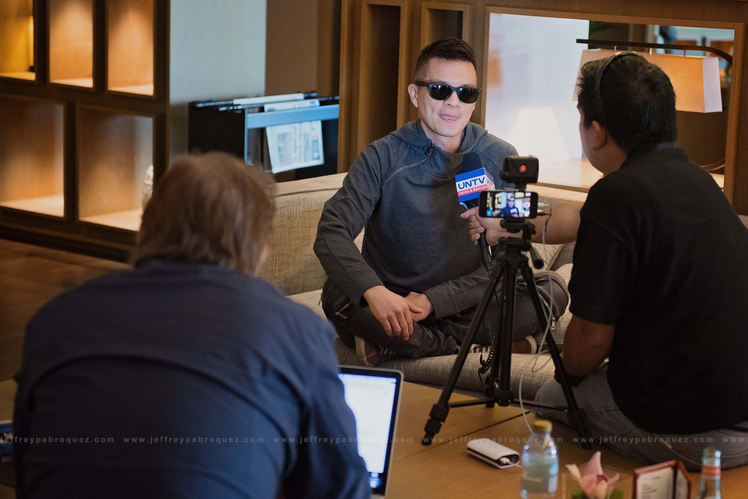 UNTV interview with Bamboo
